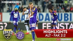Highlights: tipico Bundesliga, 19. Runde: SCR Cashpoint Altach - FK Austria Wien 2:2