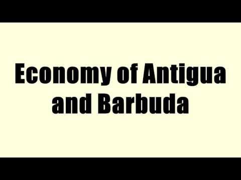 Economy of Antigua and Barbuda