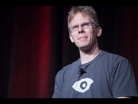 """The Dawn of Mobile VR"" keynote by John Carmack"