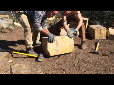 Trowe & Holden Tool for Splitting Dense Colorado Sandstone