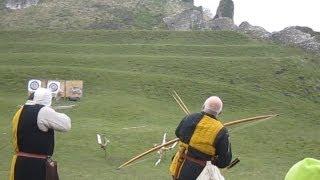 Medieval crossbow vs Longbow