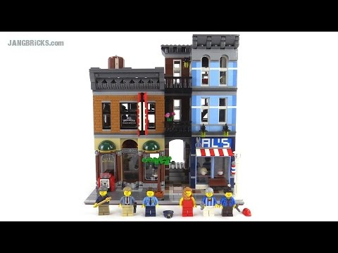 LEGO Creator Detective's Office review! set 10246