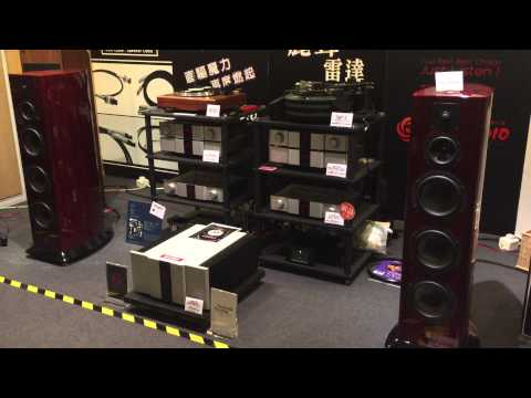 Karan Acoustics and ASI Speakers at Hong Kong AV Show 2015