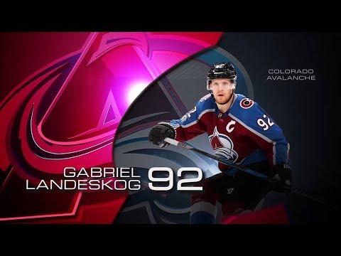 Landeskog named first star of the week