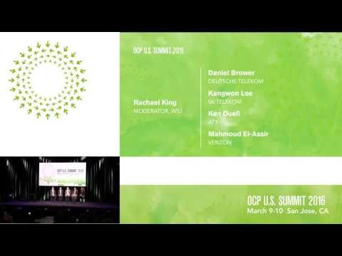 OCP Summit 2016: Panel: Telco Discussion with Rachael King, Wall Street Journal