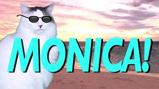 HAPPY BIRTHDAY MONICA! - EPIC CAT Happy Birthday Song
