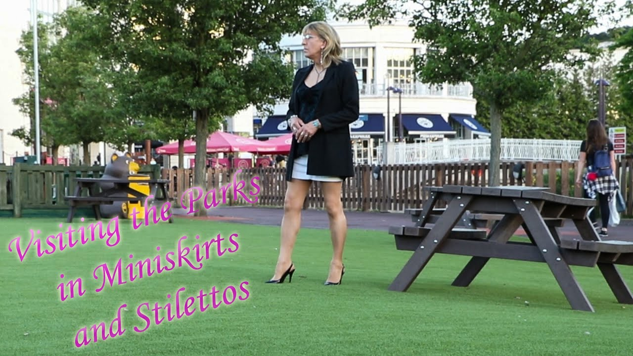 Parks and Gardens in Miniskirts and Stilettos
