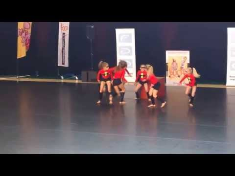 Show dance/Performing Arts, Finnish Championships 2014, children, small group