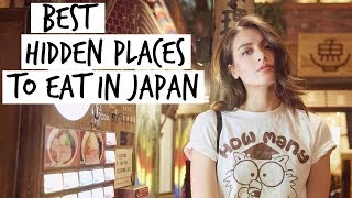 Best HIDDEN Places to Eat In Japan | Jess Vlogs