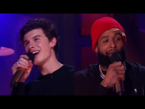 Shawn Mendes DESTROYS Odell Beckham Jr. in 'Drop The Mic' Rap Battle