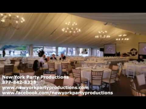 New York Party Productions VJ Video DIsc Jockey Video screens and Sound for Hollywood themed Event