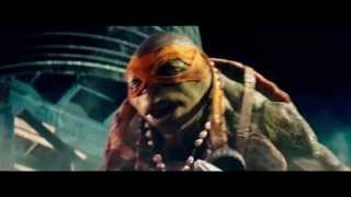 Черепашки-ниндзя (2014) — Трейлер (дублированный) 1080p