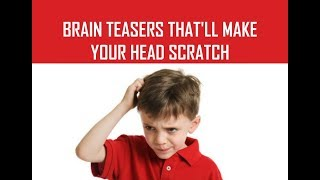 Brain Teasers and Reḃus puzzles for Kids