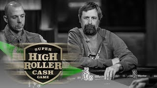 BAD BEAT! LOSING WITH ACES BACK TO BACK HANDS! | Day 1 Super High Roller Cash Game | PokerGO thumbnail