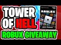 🔴ROBLOX TOWER OF HELL LIVE   ROBUX GIVEAWAY!   Roblox Livestream
