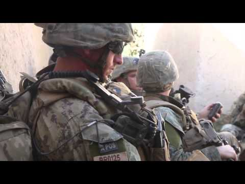 US Marines Firefight With Taliban, Sangin Afghanistan 2010