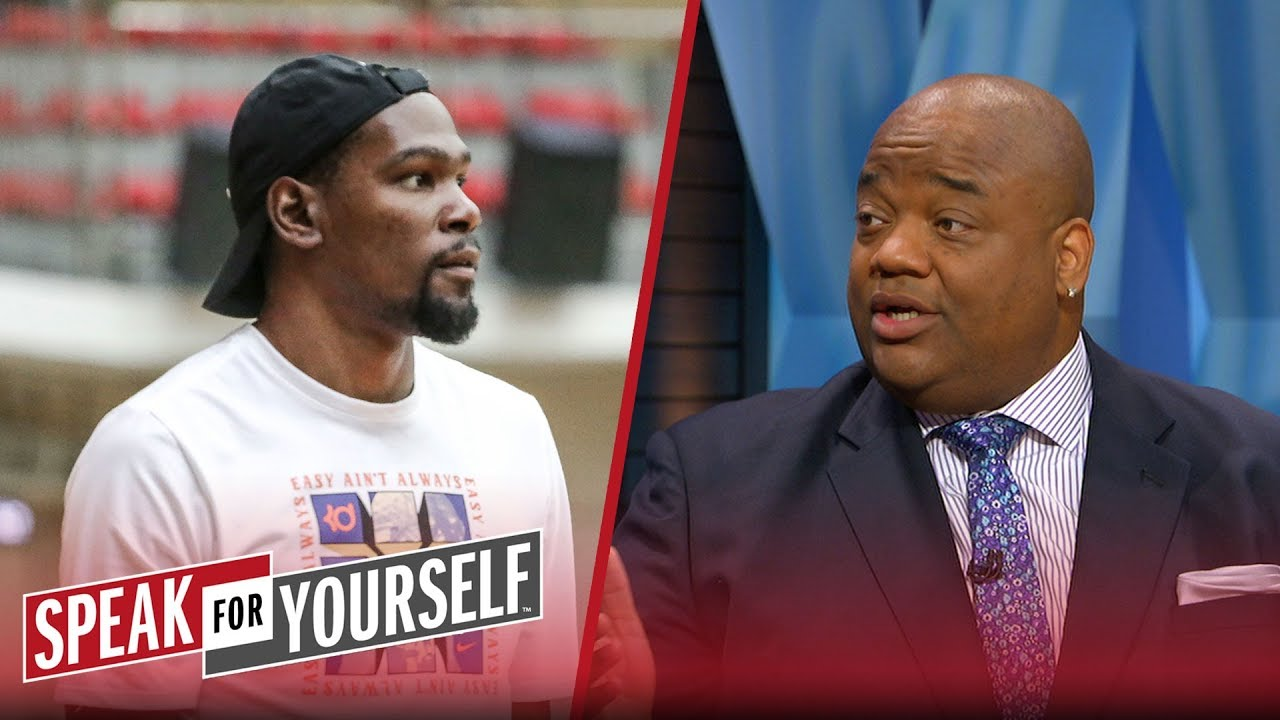 Whitlock on Durant responding to a critic on Instagram: 'It's on brand' | NBA | SPEAK FOR YOURSELF