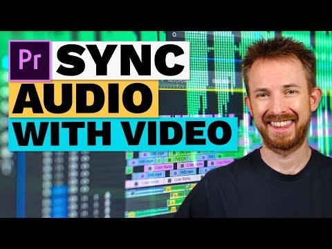 How to Sync Audio with Video in Premiere Pro CC