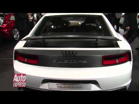 New Audi Quattro Concept revealed at Paris Motor show 2010 - Auto Express