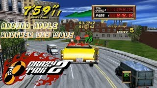 Crazy Taxi 2 Gameplay - Around Apple (Another Day Mode) with Axel