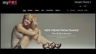 myPOS Ecommerce Modules - Web Site Sample Templates (Fashion)