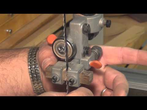 Setting up your band saw