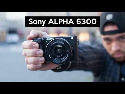 Sony Alpha 6300 | hands on | stunning 4K camera with great low light performance