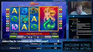 Big Bet!! Super Big Win From Sea Beauty!!