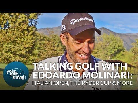 The Italian Open, Ryder Cup & more Championship Golf with Edoardo Molinari