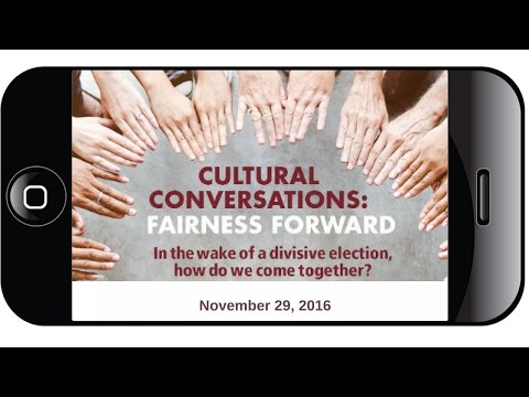 Cultural Conversations: Fairness Forward