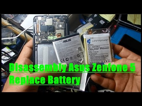 Disassembly Asus Zenfone 5 Replace Battery