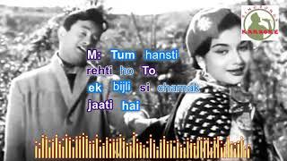 sau saal peheley hindi karaoke for Male singers with lyrics