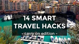 Pack & Go With These 14 Travel Hacks & bunq | Carry On Packing Tips & Tricks