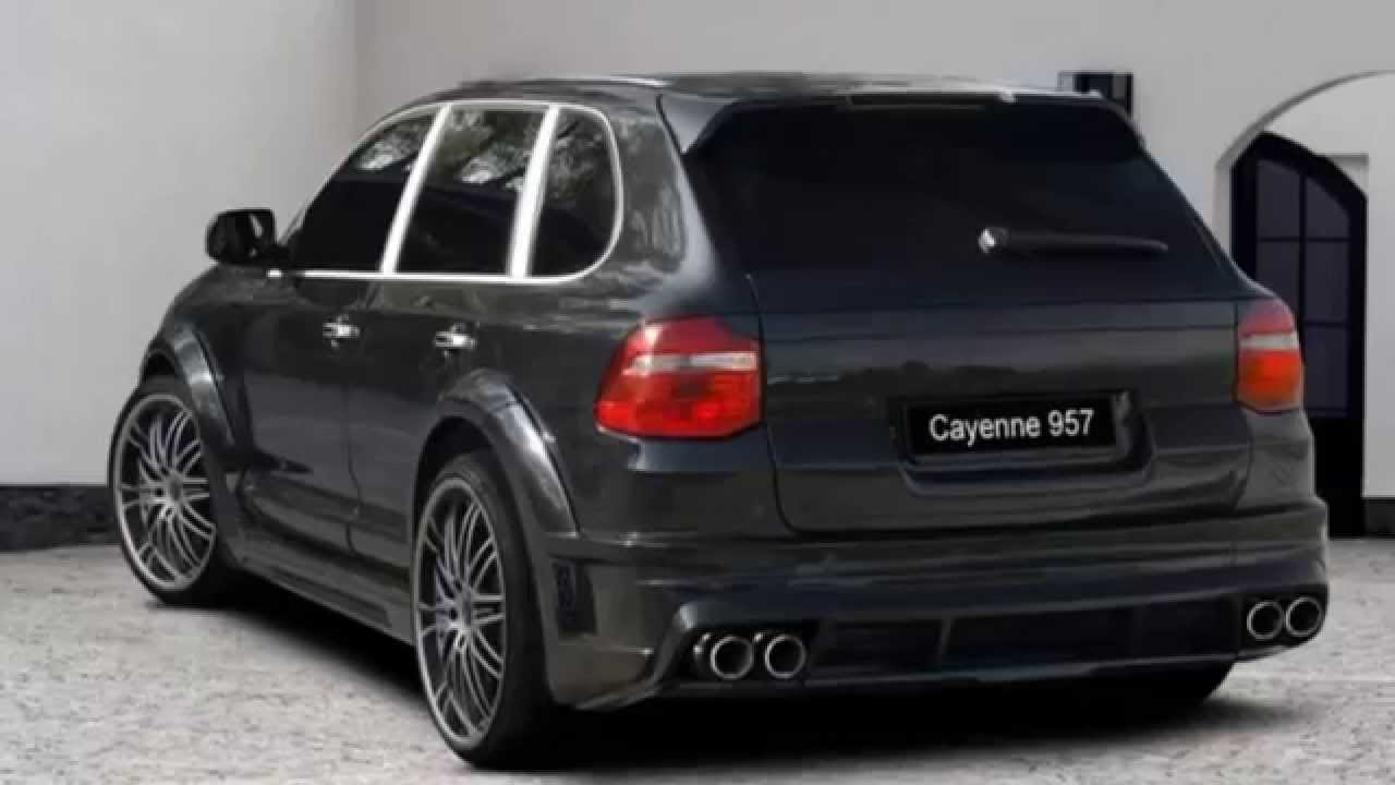 porsche cayenne tuning body kit youtube. Black Bedroom Furniture Sets. Home Design Ideas