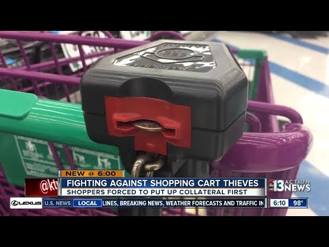 Shopping Cart Locks Meant To Stop Thieves Confusing Shoppers