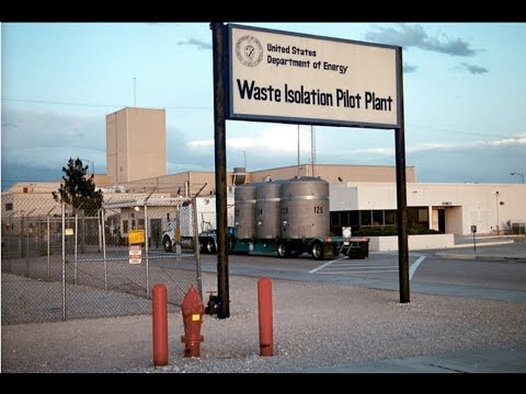 WIPP Nuclear Storage Facility, New Mexico, Testing Radiation Levels 2017