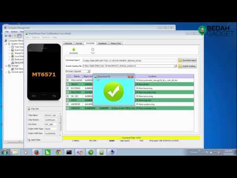 Tutorial Flashing Firmware TREQ prosesor Mediatek via SP Flash Tool