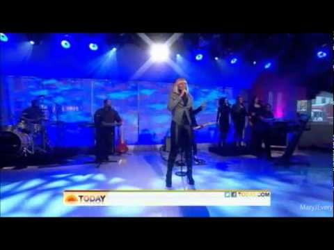 Mary J. Blige - Mr. Wrong (live on Today Show)