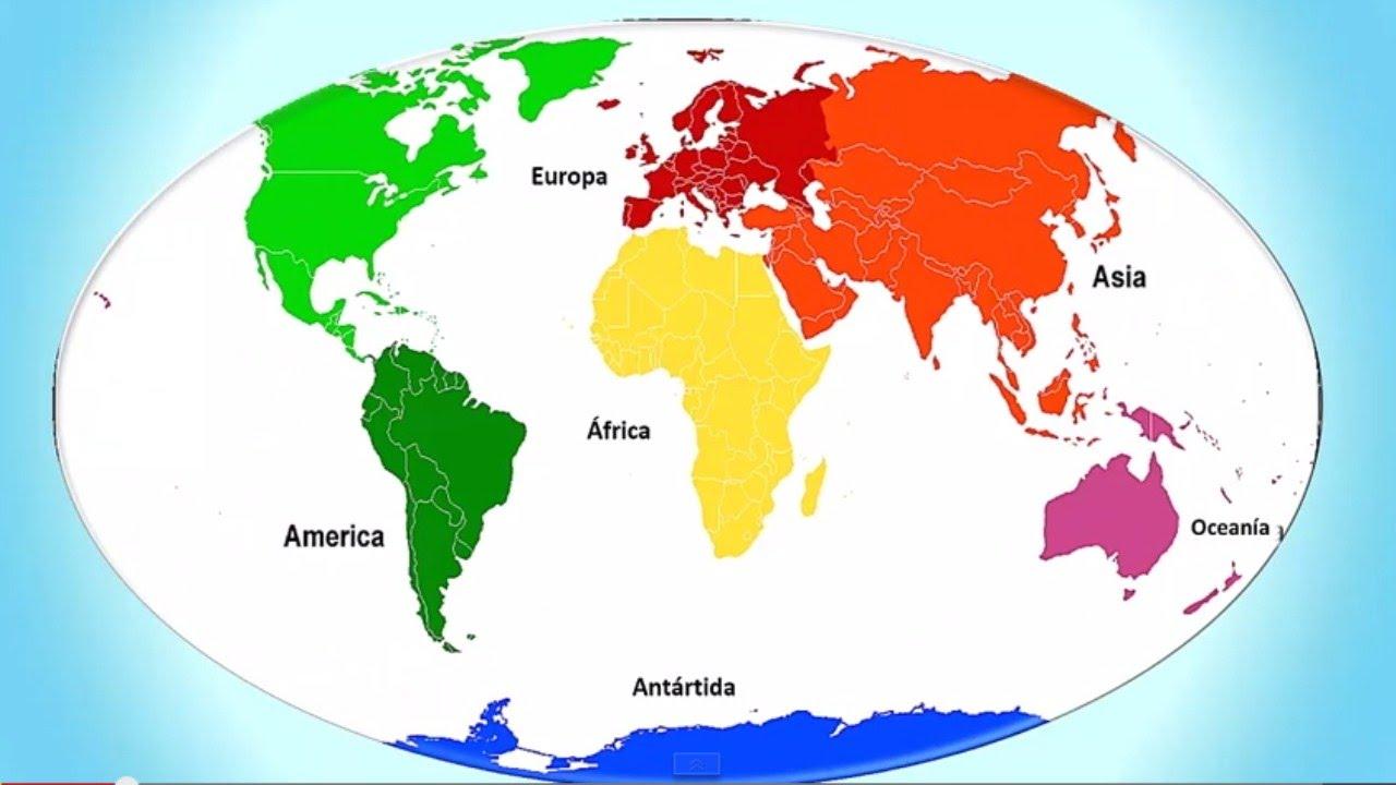 Resultado de imagen de continentes