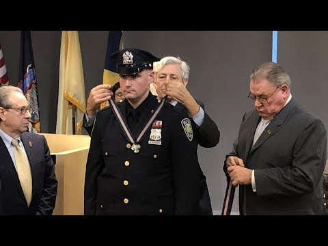 Port Authority officers who detained NYC morning commute terrorist awarded Medal of Honor