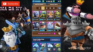 very fast cycle deck + random 2v2 battle