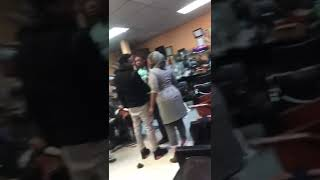 FIGHT IN AFRICAN SALON AFTER LADY CUTS GIRL HAIR NYC