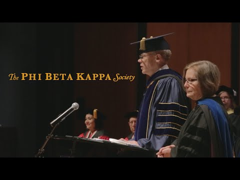 University of Houston Phi Beta Kappa Installation & Induction Ceremonies