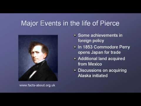 President Franklin Pierce Biography