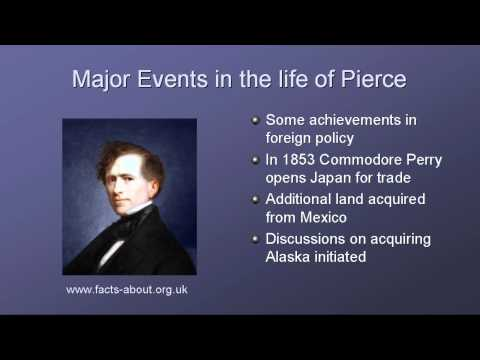 President Franklin Pierce Biography