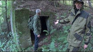 Секретный немецкий объект в лесу спустя 73 года