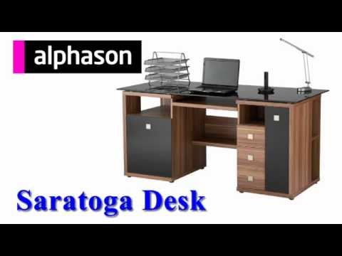 Alphason Saratoga Desk Assembly Video