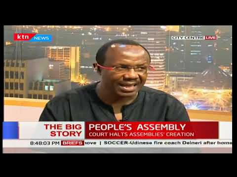 David Ndii: Sovereignty exercised at County level is not subject to National supervision