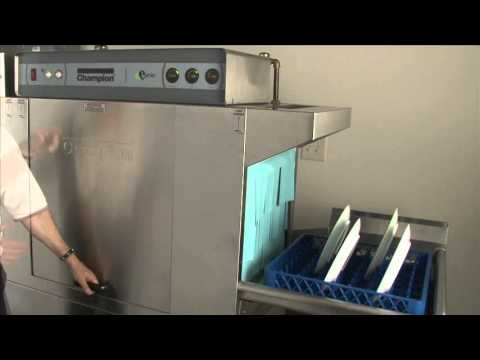 Champion - How To Operate Your Rack Conveyor Series Dishwasher