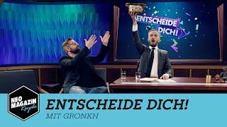 Entscheide dich! mit Gronkh   NEO MAGAZIN ROYALE mit Jan Böhmermann -  ZDFneo
